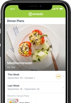 eMeals App for Clean Eating
