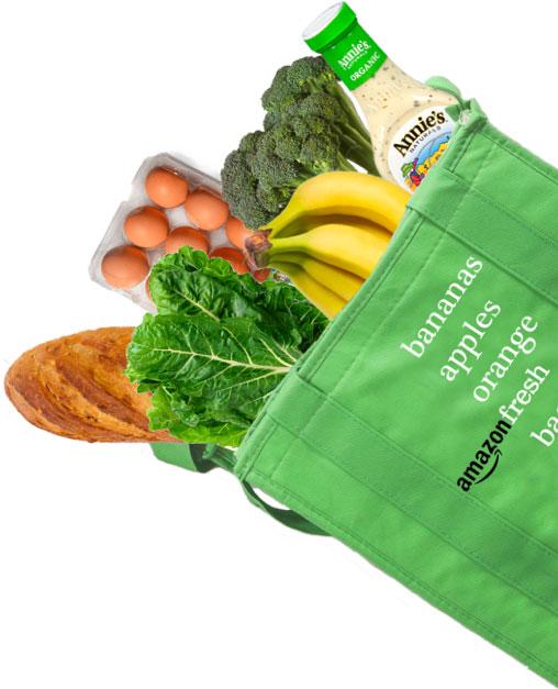 Amazon Food Bag Cutout
