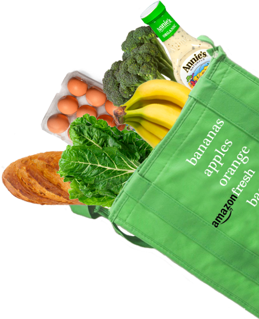 Amazon Food Bag Cutout