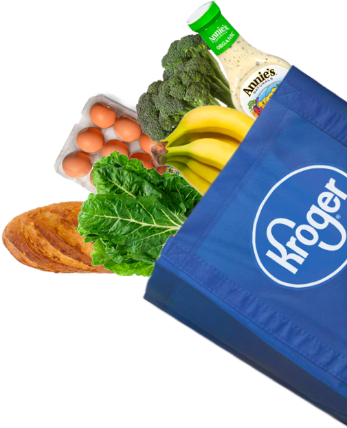 Kroger Clicklist Food Bag Cutout