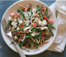 Chicken Penne Salad Lemon Dill Vinaigrette