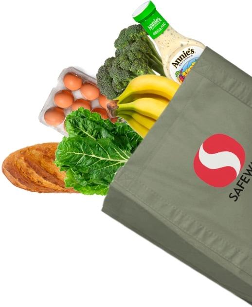 Safeway Food Bag Cutout