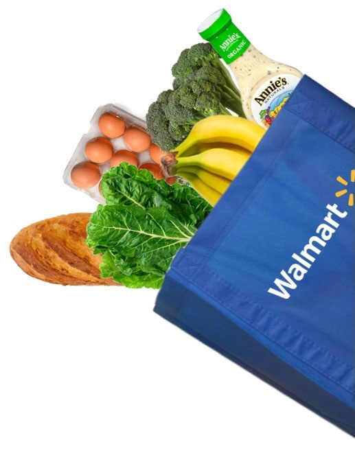 Walmart Food Bag Cutout