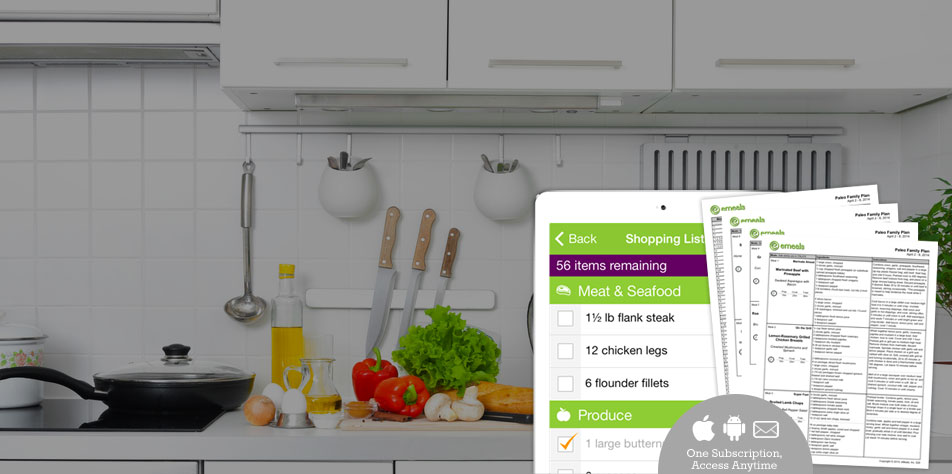 eMeals Simple, Healthy Meal Planning