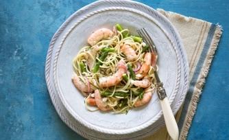 Shrimp Pasta Toss with Lemon-Dill Vinaigrette