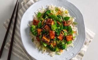 Sticky Korean Tofu