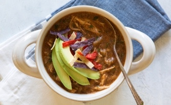 Slow Cooker Chicken-Tamale Chili
