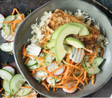 Tofu Bahn Mi Salad
