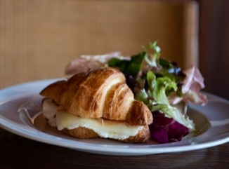 Prosciutto, Egg and Cheese Croissant